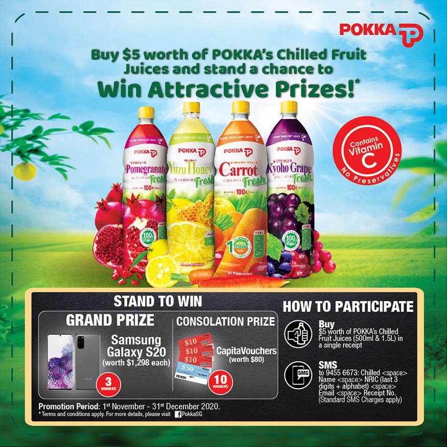 POKKA Chilled Juices Visual