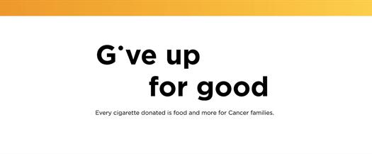 Singapore Cancer Society (SCS) Give Up For Good