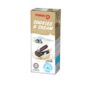Cookies and Cream Flavoured Milk Drink